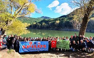 Spilos Dağcıları bu kez Karagöl'e yürüdü