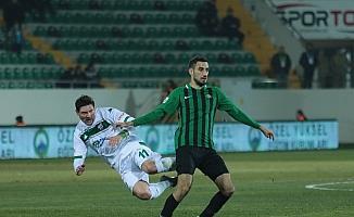 TFF 1. Lig: Akhisarpor: 0 - Bursaspor: 1