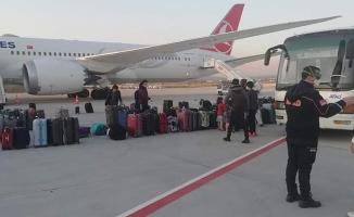 Etiyopya'dan getirilen 109 kişi karantinaya alındı