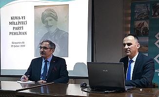 Millî Mücadele Kahramanı Mehmet Parti Pehlivan anıldı