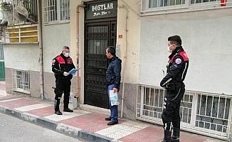 Manisa'da 14 günlük ev karantinasına uymayanlara ceza