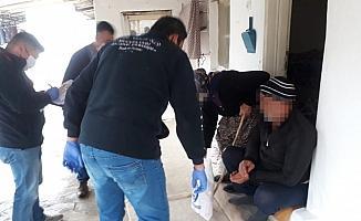 Salihli'de gıda bankası evlere hizmet götürmeye başladı