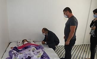 Makam aracını lenfoma kanseri minik kıza tahsis etti