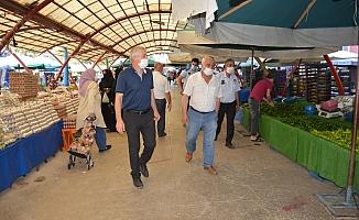 Alaybey Pazarı 83 gün sonra açıldı!