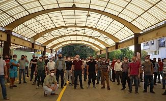 Karaköy'de pazaryeri bilmecesi!