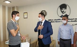 Manisa'da duyarlı belediye personelleri tebrik edildi