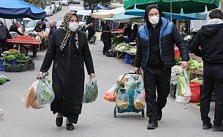 Manisa'da tümüyle maske takmak zorunlu hale geldi, pazaryerleri açıldı!