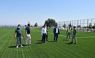 Şehzadeler'e FİFA standartlarında spor tesisi
