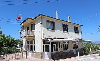Saruhanlı Belediyesi Çamlıyurt Muhtarlık binasını yeniledi