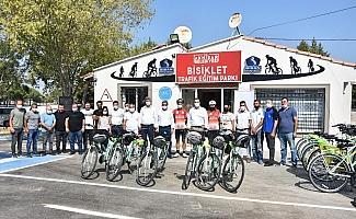 Akhisar Belediyesi Bisiklet Trafik Eğitim Parkı hizmete açıldı