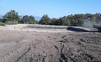 Akhisar Yaykın Göleti bakıma alındı