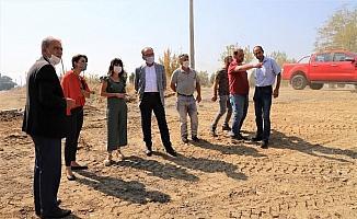 Başkan Çetin Akın Setüstü Sokak'ta incelemelerde bulundu