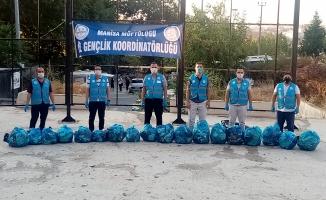Manisa'nın temizlik gönüllüleri