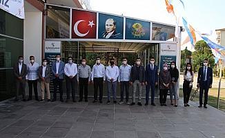 Manisa'da AK Parti Gençlik Kollarının ilk kongresi Kula'da yapıldı