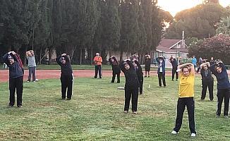 Salihli'de 'Yaşamına Hareket Kat' etkinliği