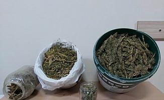 Yolcu otobüsünden 4 kilo 700 gram esrar çıktı