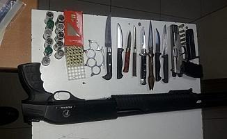 Asayiş denetimde 16 gözaltı, 4 tutuklama