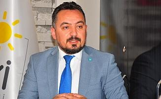 İYİ Parti İl Başkanı Eryılmaz'dan gümrük tepkisi