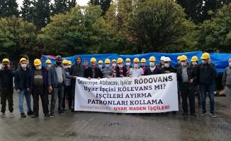 Madenciler bakanlık yetkilileri ile görüşecek