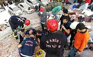 Manisa ekipleri deprem bölgesinde