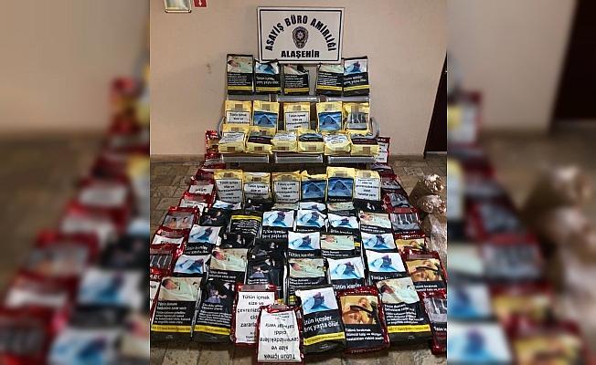 Manisa'da kaçak tütün operasyonu: 1 gözaltı