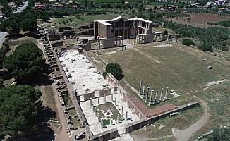 Sardes antik kenti için 4.5 milyon liralık destek