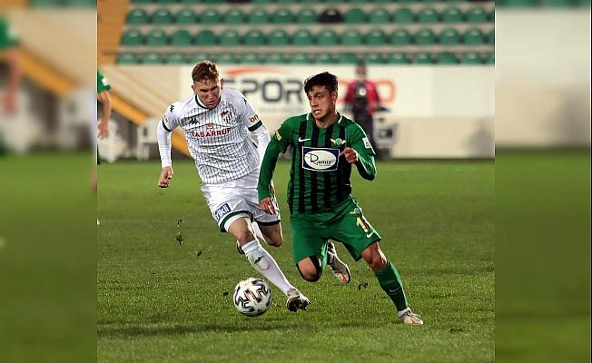 TFF 1. Lig: Akhisarpor: 2 - Bursaspor: 1