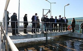 Pis sular arıtılarak Gediz Nehri'ne bırakılıyor