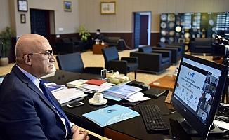 Rektör Ataç online gerçekleştirilen EPO Konsorsiyum Toplantısına katıldı
