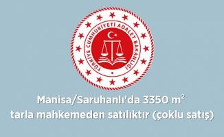 Manisa'nın Saruhanlı  ilçesinde  3350 m² tarla mahkemeden satılıktır