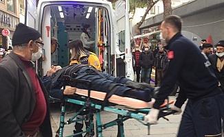 Sokakta bayılan yaşlı adam hastanede hayatını kaybetti