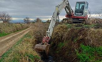 Tarım arazileri taşkınlardan korunuyor