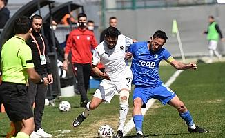 2. Lig: Manisa FK: 1 - Ankara Demirspor: 1
