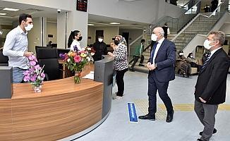 MCBÜ Hafsa Sultan Hastanesi polikliniklerinde yüzde 100'lük artış