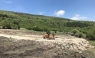 Bademli'ye yeni hayvan içme suyu göleti