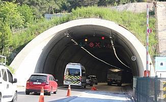 (Özel) Sabuncubeli Tüneli hem zamandan hem yakıttan dev tasarruf sağlıyor