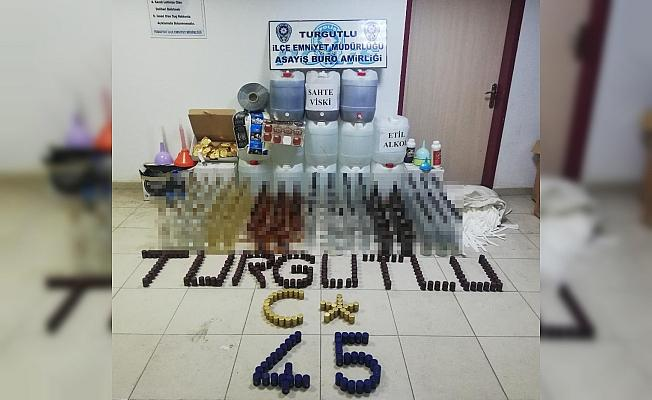 Polisten sahte içki operasyonu