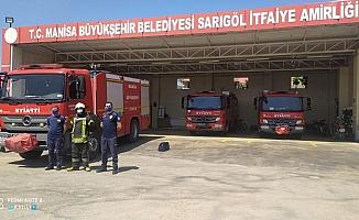 Manisa Büyükşehir'den Manavgat yangınına destek