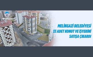 Melikgazi Belediyesi 33 Adet Konut ve İşyerini Satışa Çıkardı