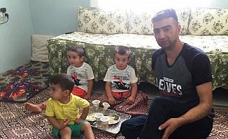 Kuzey Irak gazisi taburcu olarak evine döndü