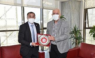 Judo Federasyonu Başkanı Manisa'da temaslarda bulundu