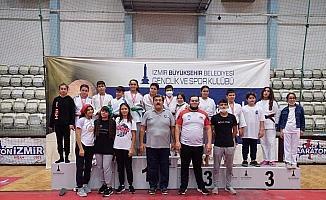 Yunusemreli judocular İzmir'den madalyalarla döndü