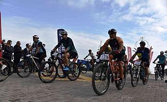 Dağ bisikletçileri 3. kez Yunusemre'de buluştu