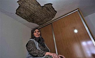 Deprem değil tır çatlağı