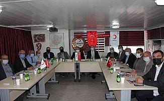 Kızılay koordinasyon toplantısı Salihli'de yapıldı