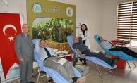 Manisa Ticaret Borsası'ndan kan bağışı