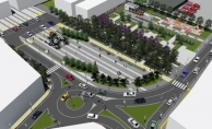 Soma İstasyon Mahallesine modern meydan
