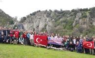 Spilos Dağcıları Türkmen Şelalesi'nde