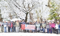 Spilos Dağcıları Bozdağ'da zirve yaptı