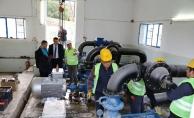 Kırkağaç içme suyu tesislerinde yenileme